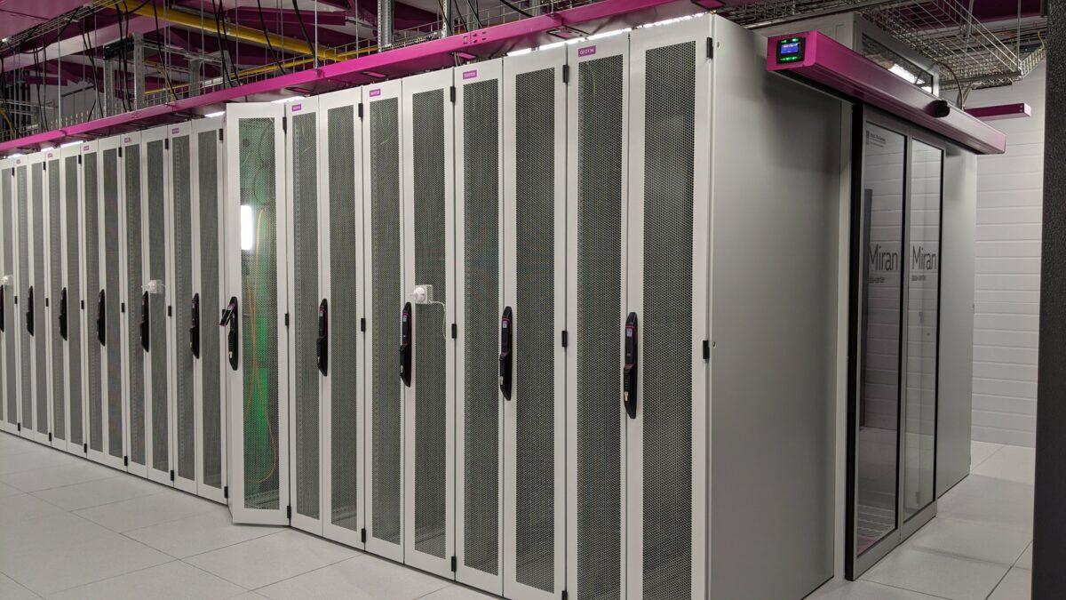 Новый серверный зал Миран-2